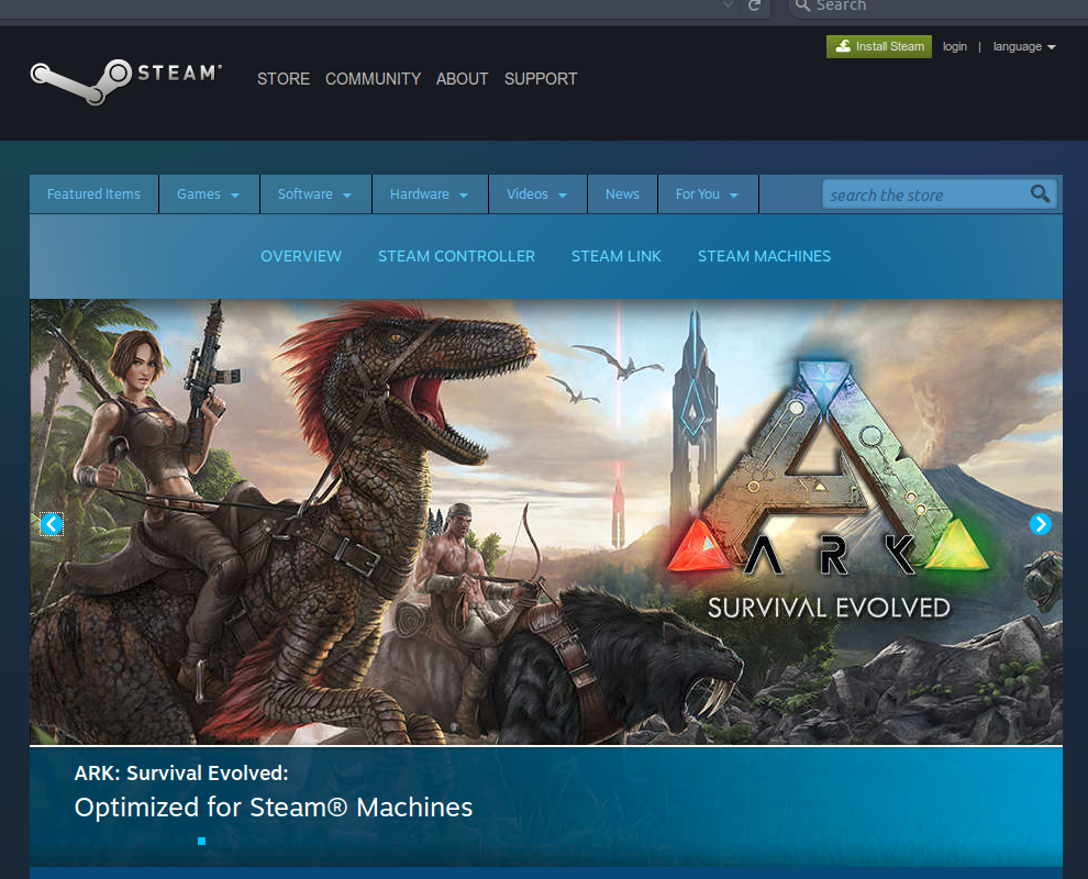 ark survival evolved install location