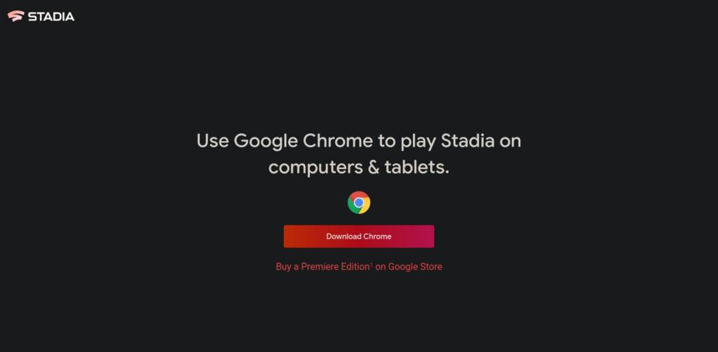 Google Chrome Stadia (cloud gaming)