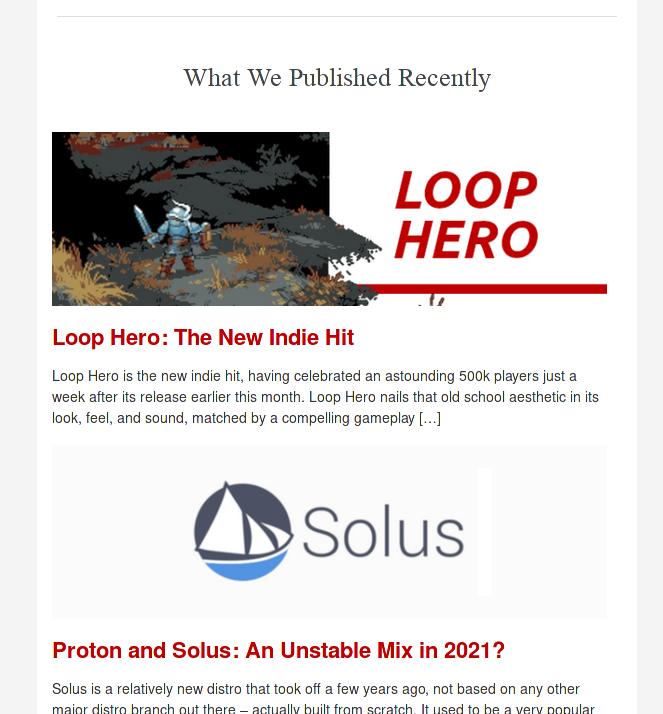 newsletter latest articles