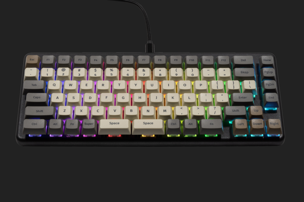 System76 Launch keyboard with LEDs