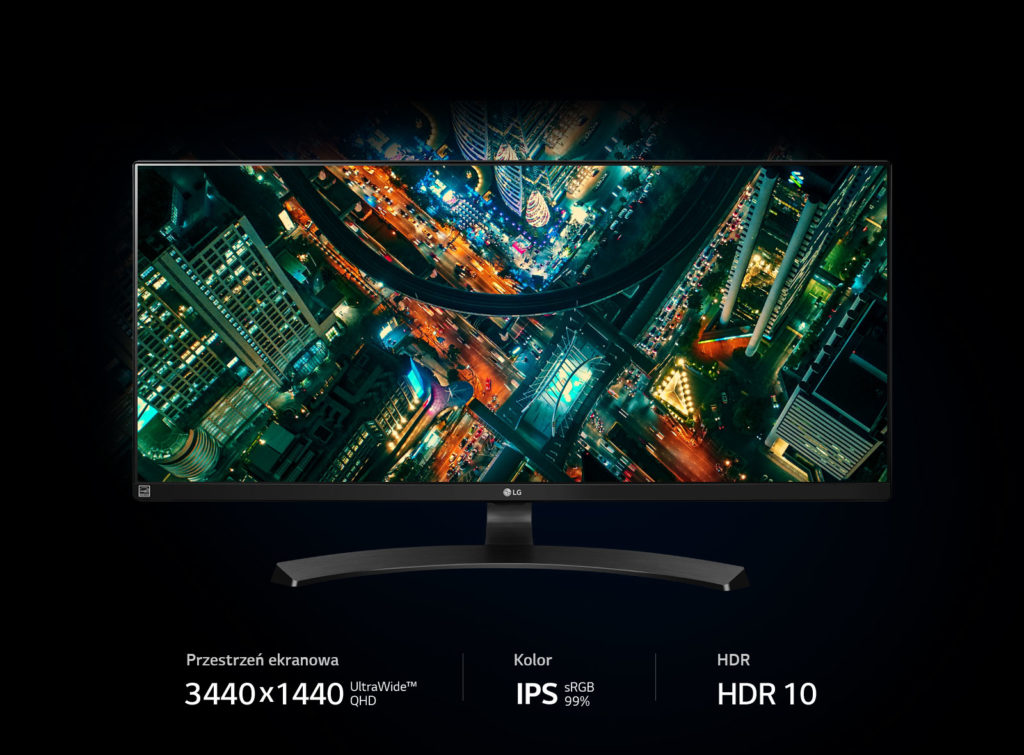 UltraWide display from LG