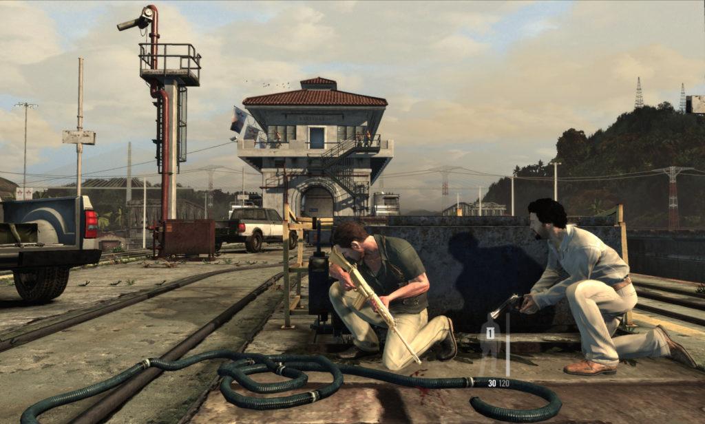 Max Payne 3: at the panama canal