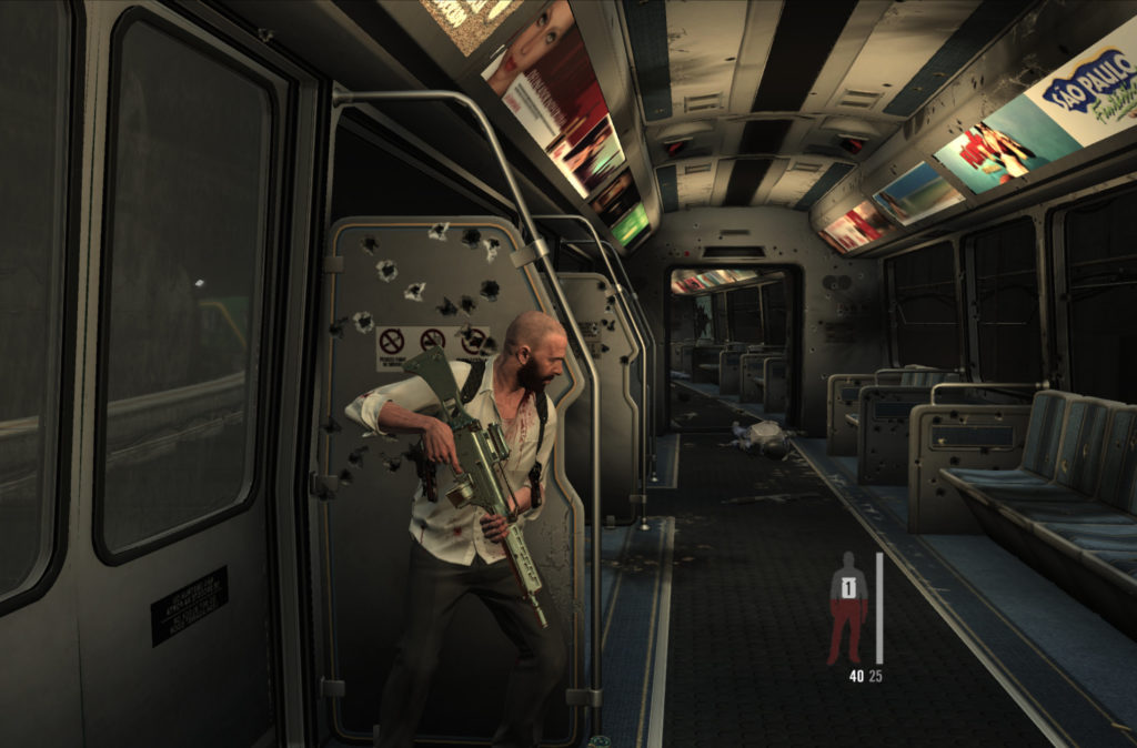 Max Payne 3: shuttle to the airport