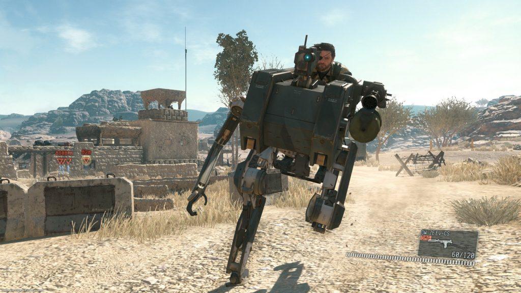 mgs v riding droid