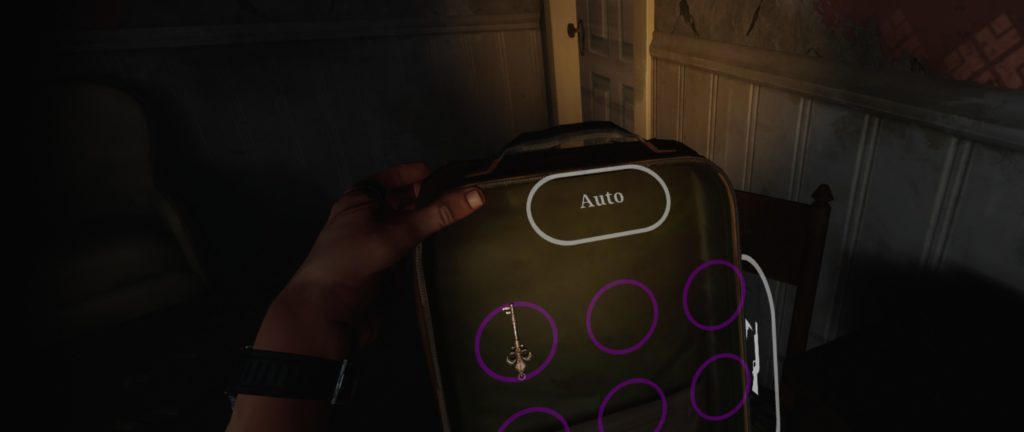 "The ""physical backpack"", a growing trope of VR games. You extend your hand to the back and ""grab"" the backpack which is where you manage your inventory. I wish the backpack from Metro: Exodus (a non-VR game) felt as real as that."