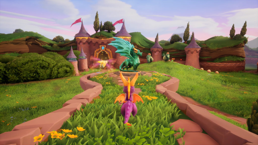 spyro reignited - works fine on Linux with Proton