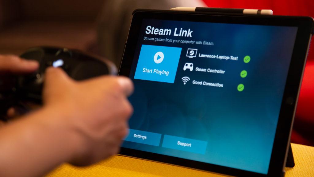 steam link mobile app