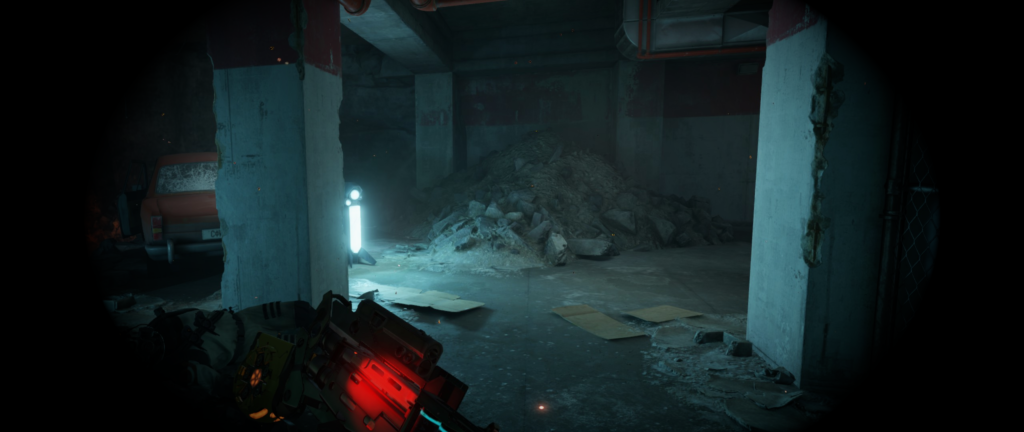 Vignette/Tunnel Vision in Half-Life: Alux