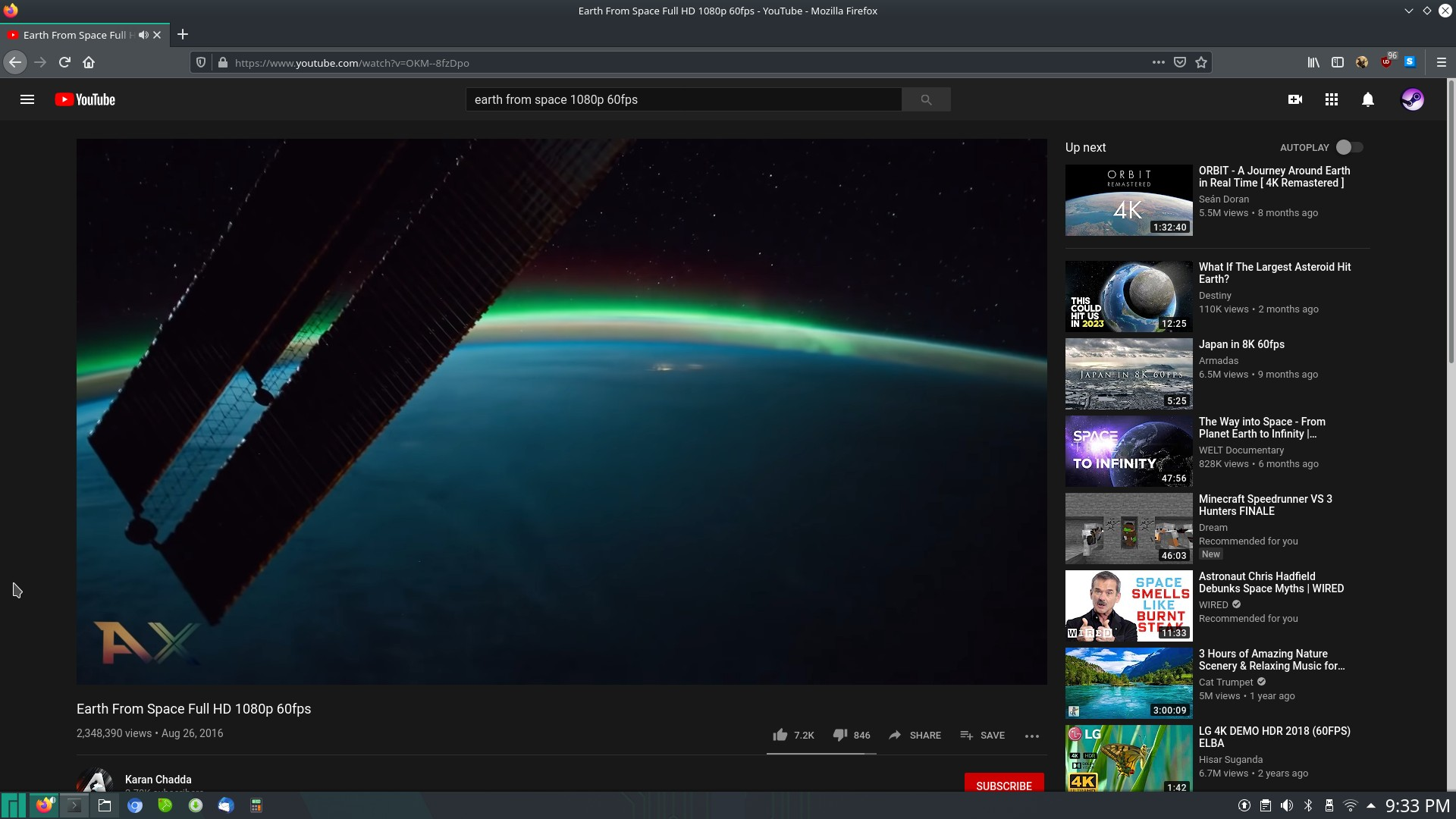 pinebook pro youtube playback